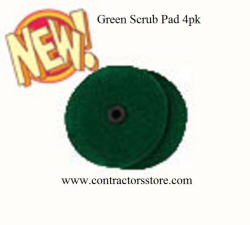 Pullman Holt Gloss Boss Mini Green Scrub Pad 4 Pack
