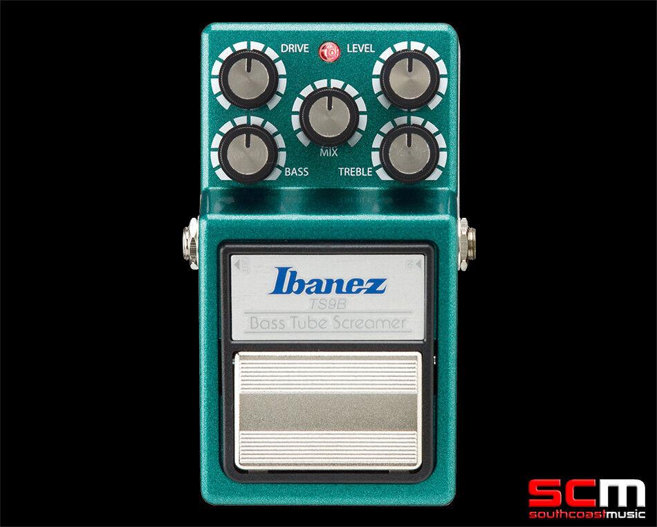 289 Ibanez TS9B Tube Screamer Bass Guitar Overdrive Pro Pedal FX Effects