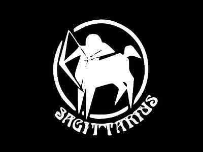 SAGITTARIUS Seal Birth Sign Astrology Vinyl Decal Car Wall Sticker CHOOSE SIZE