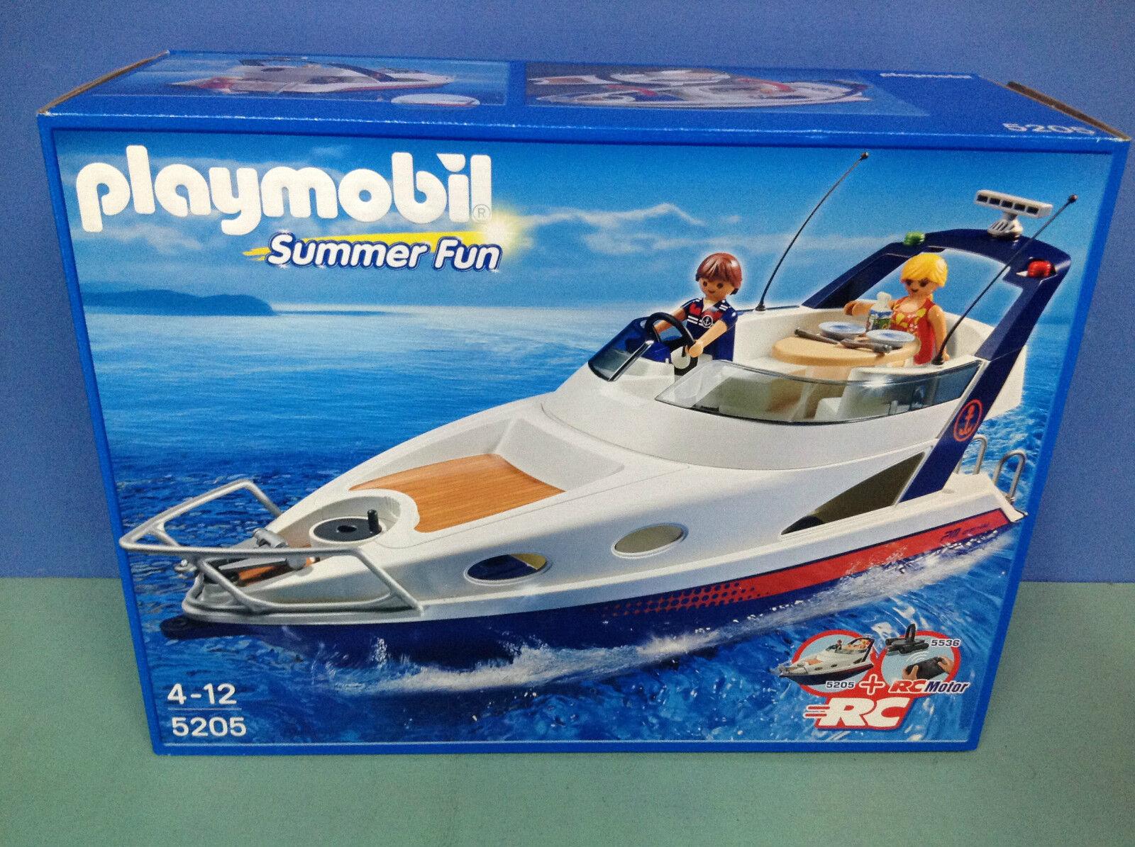 (N5205.1) playmobil bateau plaisance ref 5205 boite neuve