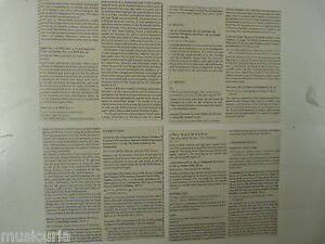 40-sheets-ORIGAMI-paper-12-x-12cm-random-text-with-MUSIC-THEME-in-german