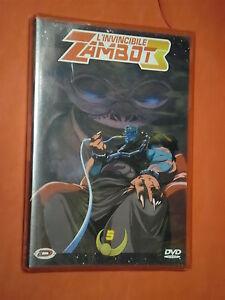 INVINCIBILE ZAMBOT 3 vol 5 - dvd DYNAMIC VIDEO nuovo e sigillato raro collezione
