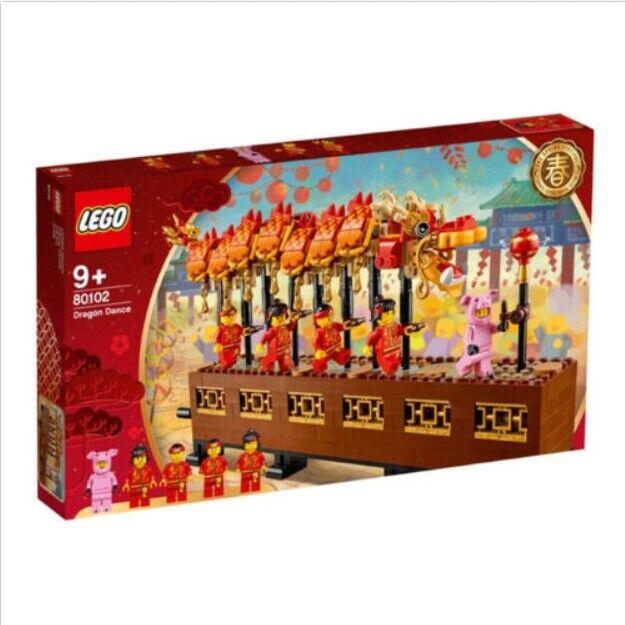 Lego 80102 Dragon Dance 2019 Juego de Estrellas 622 piezas exclusivo de Asia Caja
