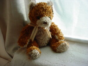 Whittle Beanie Buddies Collection Teddy Bear Ty Silk
