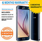 Samsung Galaxy S 6 SM-G920 S6 (Latest Model) - 32 GB - Black Sapphire (Unlocked)