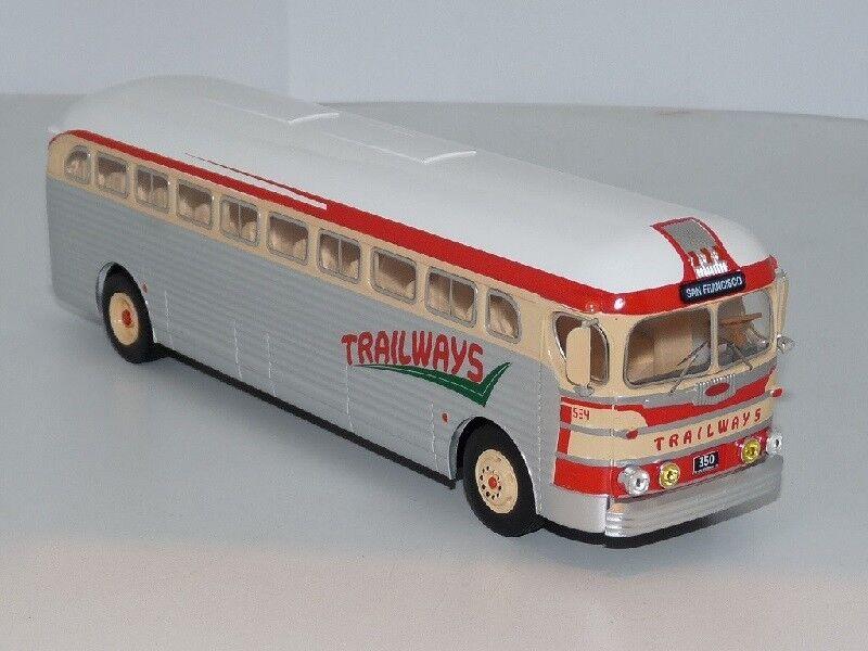 Ixo 1 43 gm pd-3751 trailways bus015 neu