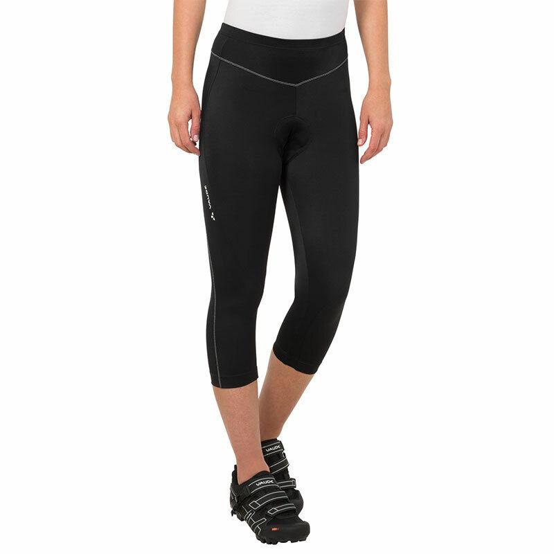 Vaude donna Active 34 34 34 Pants Capri Radler Pantaloni Donna Imbottito strettamente elastici 63b