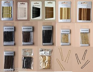 PACK-OF-24-36-WAVY-HAIR-PINS-KIRBY-GRIPS-BOBBY-PINS-HAIRPINS-CHOOSE