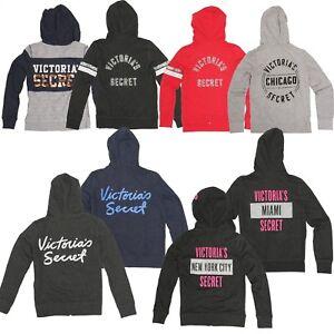 Victoria's À À Capuche Nwt Veste Vs Capuche XsSM Veste Sequins Secret Bling Logo 4jARLc5q3