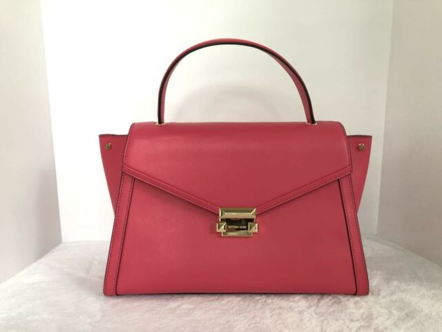 9b6fda943ec7 Michael Kors Whitney Large Rose Pink Th Satchel 30T8GXIS3L for sale ...