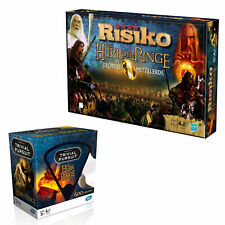 Herr der Ringe Bundle Risiko + Trivial Pursuit Quiz Strategiespiel Brettspiel