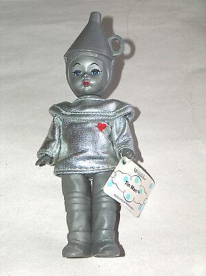 """2007 Madame Alexander Mago Di Oz 6 """" Latta Man Bambola W/originale Etichetta A Tutti I Costi"""