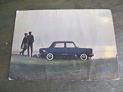 carte postale SIMCA STUNT MAN CRASH CAMPBELL DE 1956-10x15cm