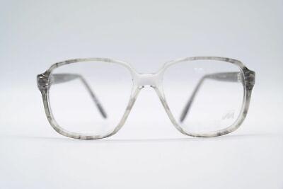 Attento Vintage Meitzner 093 50 [] 16 140 Grigio Ovale Occhiali Eyeglasses Nos- Una Custodia Di Plastica è Compartimentata Per Lo Stoccaggio Sicuro