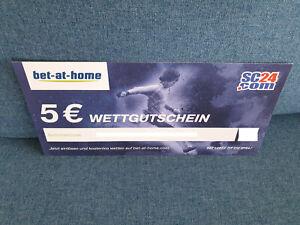 5 Euro Wettgutschein