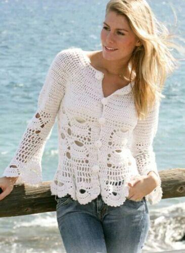Crochet Pattern Pour Femmes Cardigan