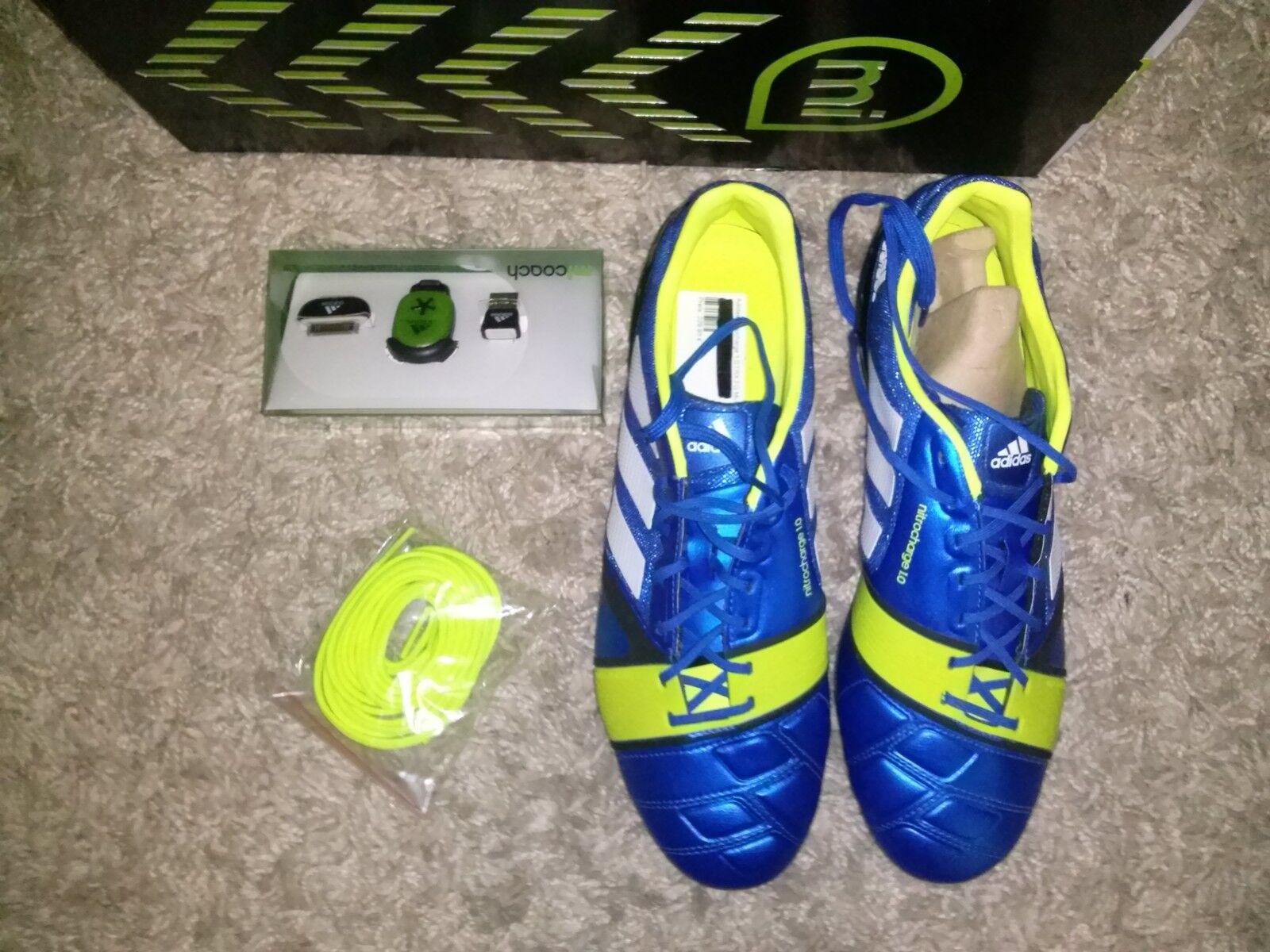 Adidas nitrocharge 1.0 TRX  FG mit MI-COAD 41 1 3 Fußballschuh NEU