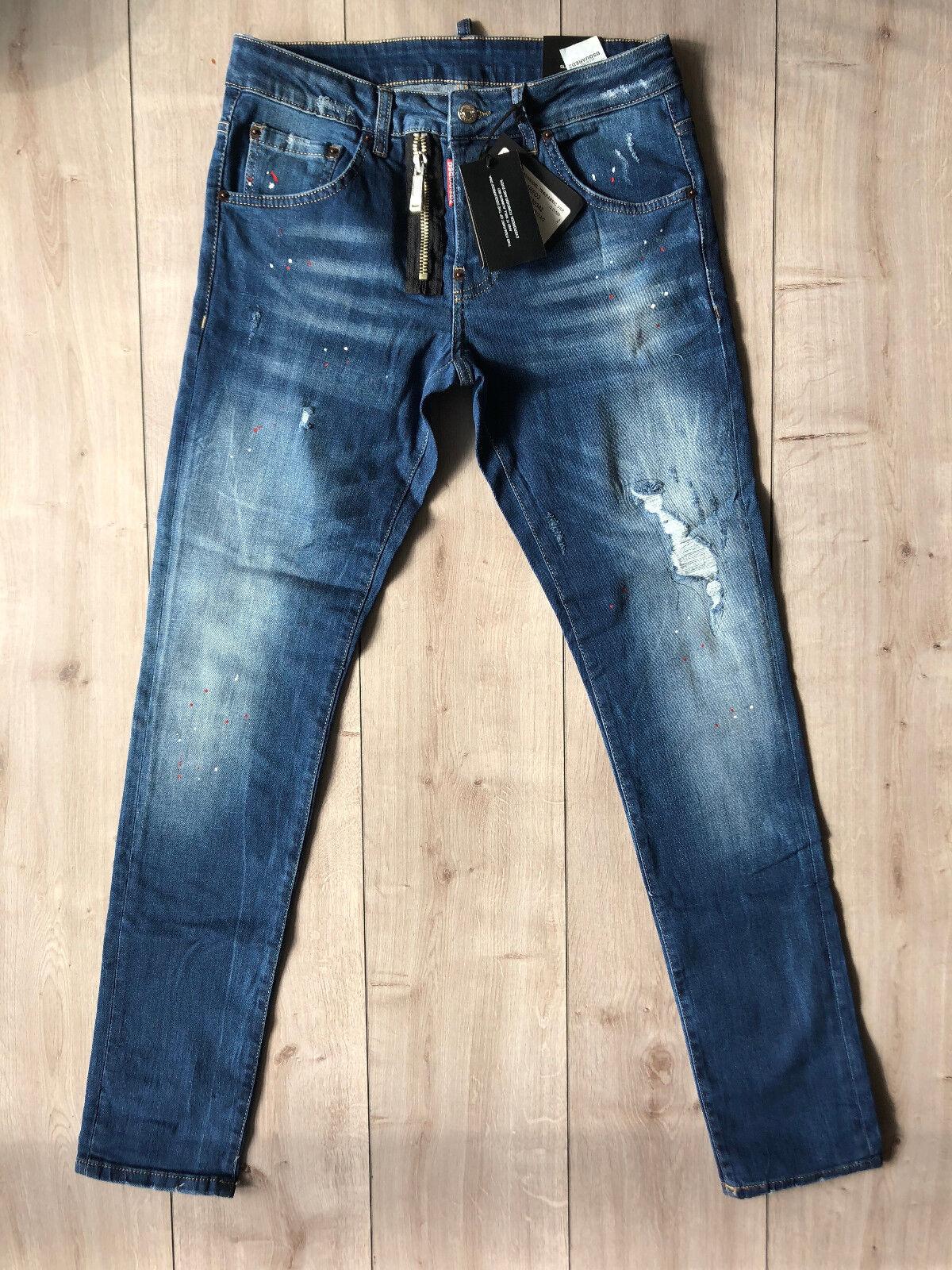 NWTDsquared Slim Jean Jeans W34 L34 (Waist 88 cm) Size 48