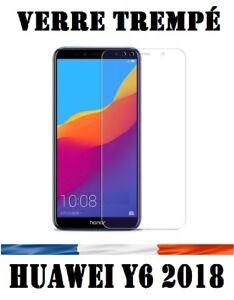 pack-Pr-Huawei-Y6-2018-vitre-protection-verre-trempe-film-protecteur-ecran