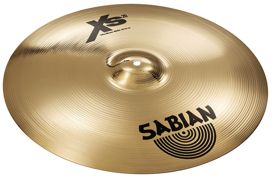Sabian 20  MEDIUM RIDE xs20-SERIE Brilliant finish offerta speciale merce nuova
