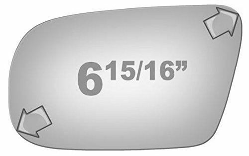 Driver Side Left Lens Flat Power Replacement Door Mirror Glass F26017 Fits Buick