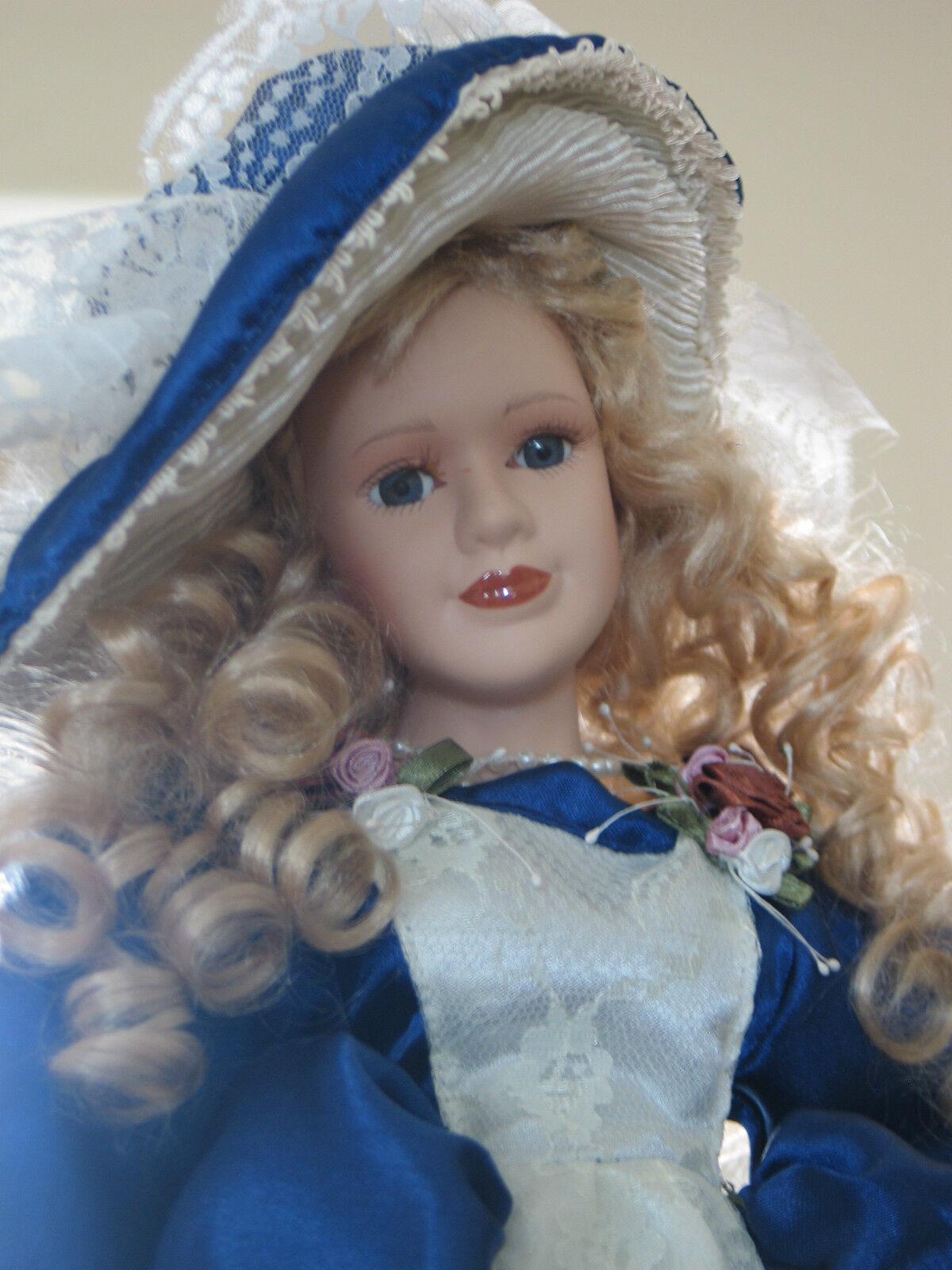 Muñeca De Porcelana Hermoso Estilo Victoriano