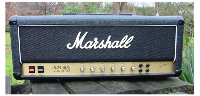 Guitartop,  Marshall Super Lead 59  JCM800 Model 1959, 100…