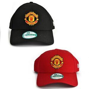 f971c7bbb1a New Era Mens 9FORTY Baseball Cap Manchester United Curved Peak Hat ...