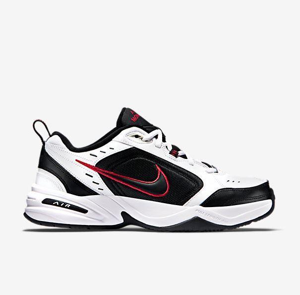 Size 7.5 - Nike Air Monarch IV White