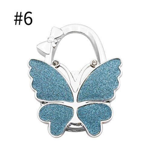 Handbag Hook Colorful Purse Bag Hooks Wallet Tote Hanger Holder Cute Butterfly