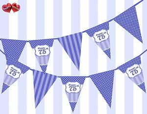 Brilliant-Blue-Happy-75th-Birthday-Vintage-Polka-Dots-Theme-Bunting-Banner-Party