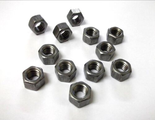 """Pack of 12 Hexagon *Top Quality! 3//8/"""" Inches Full nuts UNC"""