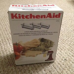on kitchenaid kpra pasta roller and cutter set 2 in one