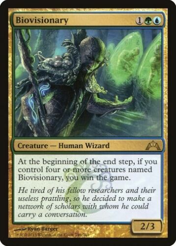 MTG 4x BIOVISIONARY Gatecrash *Rare*