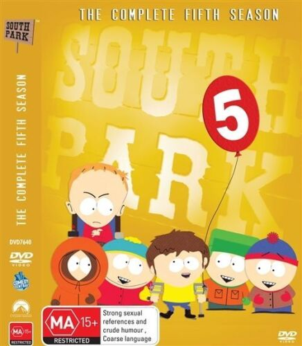 1 of 1 - - SOUTH PARK - COMPLETE FIFTH SEASON  (BRAND NEW SEALED) REGION 4 *NOW* $17.25