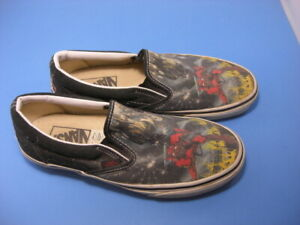 Vans Iron Maiden The Number Of The Beast Limited Edition Slip-On Mens Sz. 6