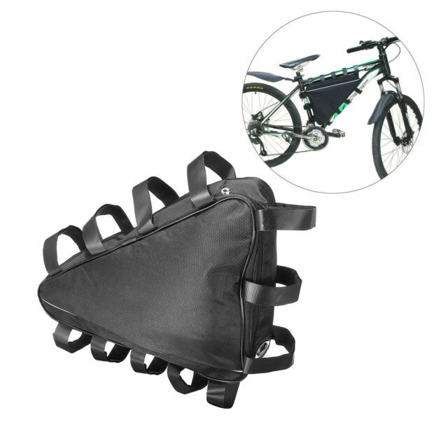 E bike controller bag Front Triangular Cycling bag Frame Saddle Mountain Bike