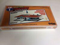 Tyco Us1 Electric Trucking Howard Johnson Truck Stop Kit 3783 Vintage/sealed