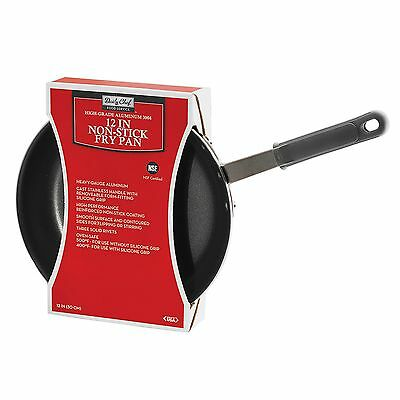 "Daily Chef 12"" Restaurant Fry Frying Pan Commercial Heavy Aluminum Nonstick NSF"
