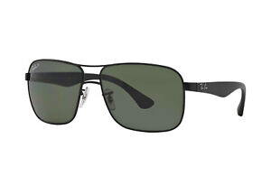77fe8de2799 Ray-Ban RB3516 Polarized Classic G-15 Lens Sunglasses Sqaure MADE IN ...