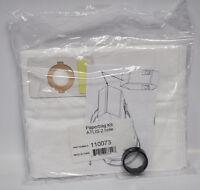 Beam Central Vacuum Atlis 2 Hole Paper Bag Adapter Kit 110073