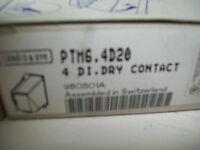 Landis & Gyr Ptm6.4d20 4di. Dry Contact