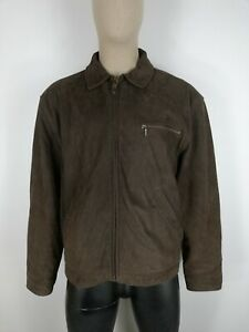 TIMBERLAND CAPPOTTO in PELLE MORBIDA Giubbotto Coat Jacket Giacca Tg XL Uomo