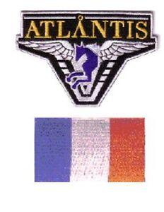 Stargate-Atlantis-2-ecussons-brodes-equipe-France-stargate-Atlantis-france-team