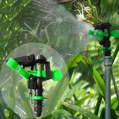 Best 360° Adjustable  Water Sprinkler Irrigation Watering Garden Spray Nozzle