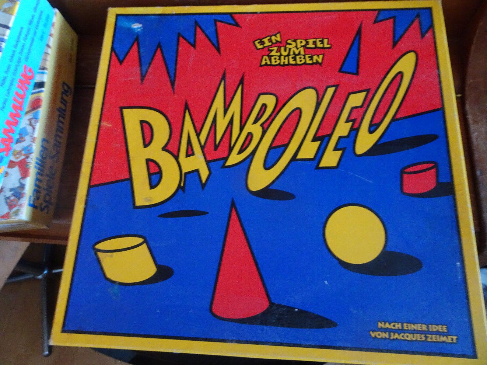 Bamboleo Holz Kippelspiel Balance von Zoch 1996 groß schwer hochwertig