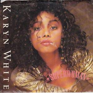 Karyn-White-Superwoman-b-w-Language-Of-Love-PS-45-rpm-Record-VG-Vinyl