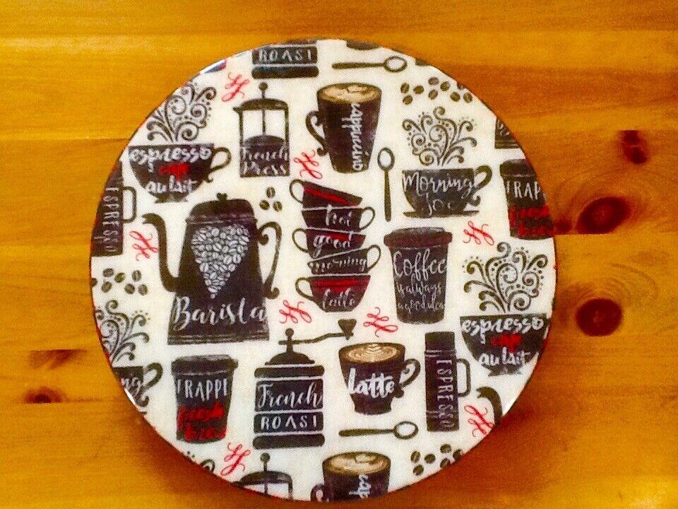 Café plateau tournant Lazy Susan bois par mamazooka Designs