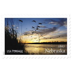 USPS New Nebraska Statehood pane of 20