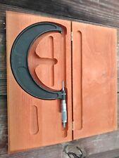Brown Amp Sharpe 5 6 Outside Micrometer 001 Graduation No 69 Inc 5 Standard
